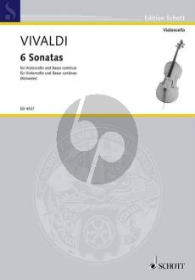 Vivaldi 6 Sonaten (RV 40-41-43-45-46-47) (Kolneder)