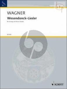 Wagner Wesendonk-Lieder WWV 91 Hohe Stimme (engl./germ.)