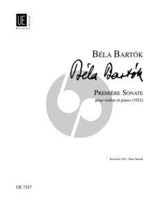 Bartok Sonata No.1 (en Trois Mouvements) Violin-Piano