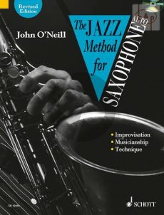O'Neill The Jazz Method for Alto Saxophone Vol.1 (Bk-Cd) (Technique, Style and Improvisation)