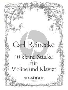 Reinecke 10 sehr leichte Stucke Op.213 Violine - Klavier