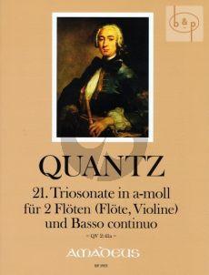 Triosonate No.21 a-Moll (QV 2:41a)