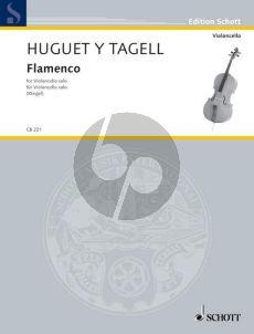 Huguet y Tagell Flamenco Violoncello (from Suite Espagnole No.1) (edited by Maria Kliegel)