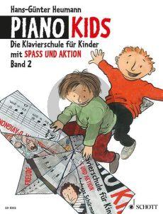 Heumann Piano Kids Vol.2 (Klavierschule fur Kinder mit Spass und Aktion)