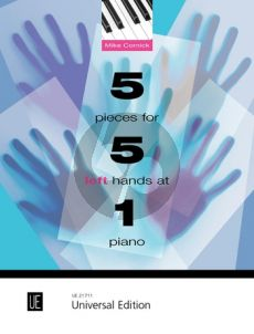 Cornick 5 Pieces for 5 Left Hands at 1 Piano