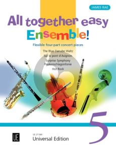 All together easy Ensemble! Vol.5 for flexible ensemble