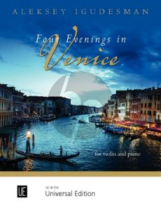 Igudesman Four Evenings in Venice for violin and piano