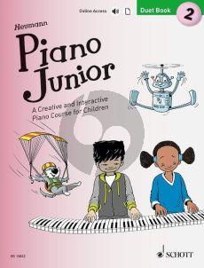Heumann Piano Junior: Duet Book 2