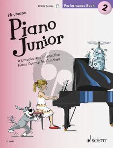 Heumann Piano Junior: Performance Book 2
