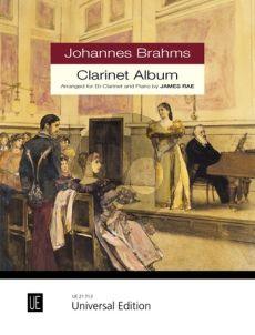 Brahms Johannes Brahms Clarinet Album for Clarinet and Piano (Rae)