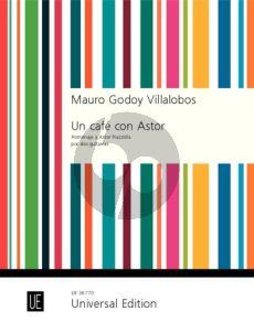 Godoy Villalobos Un café con Astor for 2 Guitars (Homenaje a Astor Piazzolla)