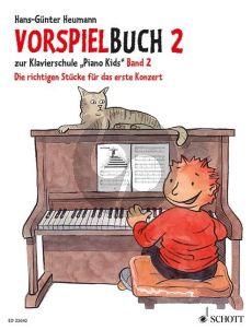 """Heumann Vorspielbuch 2 zur Klavierschule """"Piano Kids"""" Band 2 Die richtigen Stücke für das erste Konzert"""