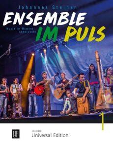 Steiner Ensemble im Puls for flexible Ensemble (Musik im Moment entwickeln) Score