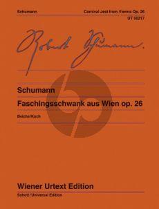 Schumann Faschingsschwank aus Wien Op.26 Klavier (ed. Michael Beiche) (Wiener-Urtext)