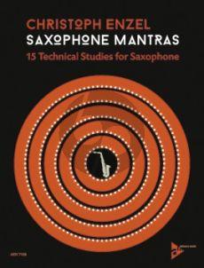 Enzel Saxophone Mantras - 15 Technical Studies for Saxophone