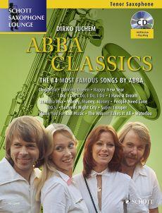 Abba Classics (The 14 Most Famous Songs) Tenor Saxophone-Piano (Bk-Cd) (transcr. by Dirko Juchem)