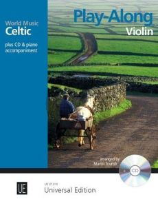 Celtic – Play Along for Violin with CD or Piano accompaniment (Bk-Cd) (edited by Martin Tourish)