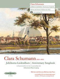 Clara Schumann - Jubiläums-Liederalbum Mittel - Tiefe Stimme (Bk-Cd)