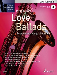 Love Ballads for Alto Saxophone (14 Wonderful Songs of Passion)