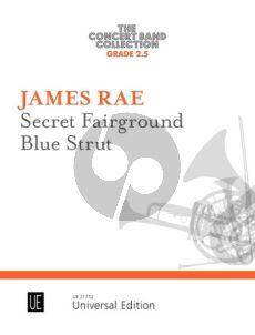 Rae Secret Fairground • Blue Strut for concert band (Score/Parts)