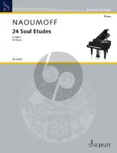 Naoumoff 24 Soul Etudes Piano solo