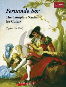 Sor Complete Studies for Guitar (De Kloe) (Urtext)