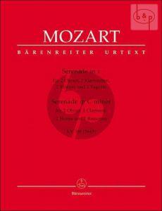 Serenade KV 388 (384a) c-moll (2 Ob.- 2 Klar.[Bb] 2 Horner[Eb]- 2 Fagotte)