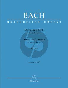 Bach Messe g-moll BWV 235 (Lutherische Messe) (Urtext der Neuen-Bach Ausgabe) (Partitur)