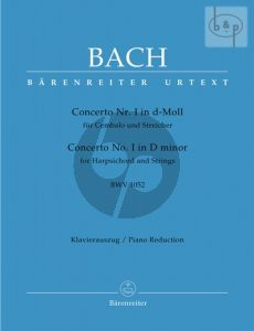 Concerto No.1 d-minor BWV 1052 (Harpsichord- Strings) (piano red.)
