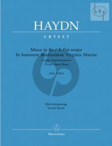 "Missa Es-dur ""In honorem Beatissimae"" (Grosse Orgelsolomesse) Hob.XXII:4 (Soli-Choir-Orch.)"