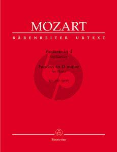 Mozart Fantasie d-moll KV 397 (Barenreiter)