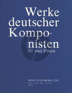 Werke Deutscher Komponisten 2 Flöten (oder Flöte und Violine) (Fodor Ákos)