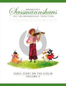 Sassmannshaus Early Start on the Violin Vol.2 (engl.)