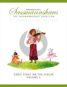 Sassmannshaus Early Start on the Violin Vol.1 (engl.)