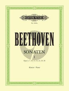 Beethoven Sonaten Vol.1 Piano (edited by Claudio Arrau and L. Hoffmann-Erbrecht)