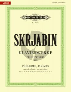 Preludien-Poems & Stucke Klavier