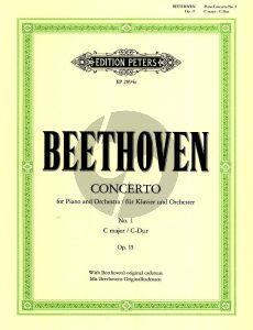 Beethoven oncerto No.1 Op.15 C Major (Reduction 2 Pianos Max Pauer) (with Beethoven's Original Cadenza Peters)