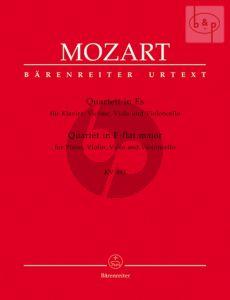Quartet E-flat major KV 493 (Vi.-Va.-Vc.-Piano) (Score/Parts)