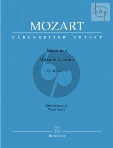 Mozart Missa c-minor KV 427 / 417a Soli-Choir-Orch. (Vocal Score) (edited by Monika Holl) (Barenreiter-Urtext)