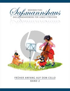 Sassmannshaus Fruher Anfang auf dem Cello Vol.2 (dt.)