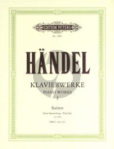 Handel Klavierwerke Vol.1 (Suiten Erste Sammlung (1720)  HWV 426-433
