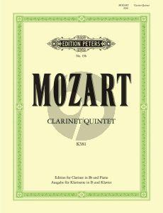 Mozart Quintet KV 581 Clarinet and Piano (Philip Catelinet)