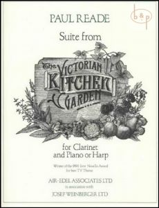 Reade Suite from Victorian Kitchen Garden Clarinet in B with Piano or Harp