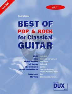 Best of Pop & Rock Classic Guitar Vol.11