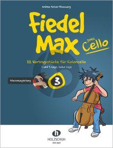 Holzer-Rhomberg Fiedel-Max goes Cello 3 Klavierbegleitung