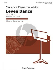 White Levee Dance Op. 27 No. 2 Violin and Piano (edited by Dunja Lavrova)