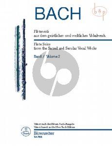 Flotensoli aus dem geistlichen und weltlichen Vokalwerk Vol.2