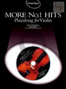 Guest Spot More No.1 Hits Playalong (Violin) (Lesley)