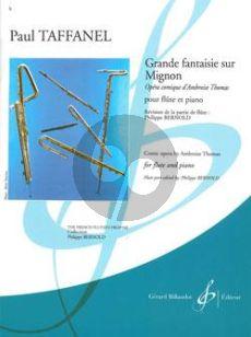 Taffanel Grande Fantaisie sur Mignon Flute-Piano (adv. grade 7) (Bernold)