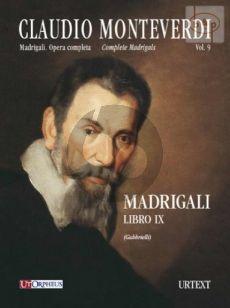 Madrigali Libro IX (Venezia 1651) (2 - 3 Voices)